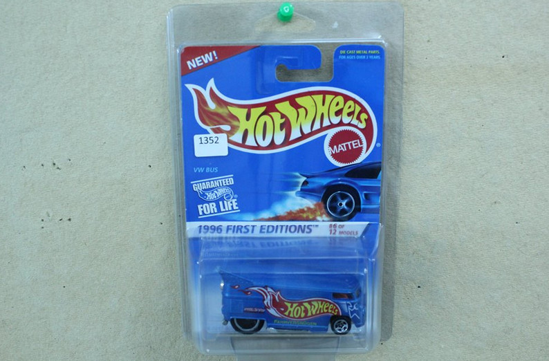 Hotwheels dragbus 1996 first edition